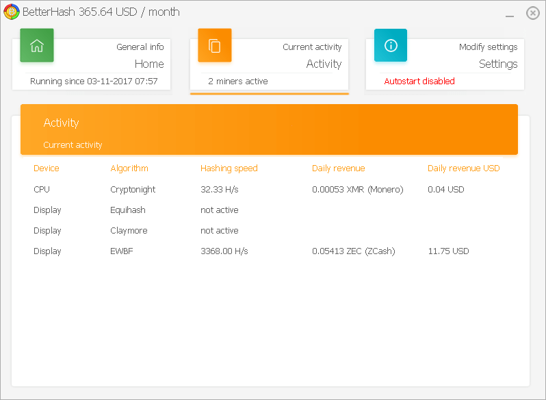 betterhash screenshot